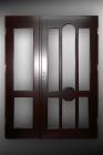 Drzwi nietypowe z otwieranym naświetlem bocznym